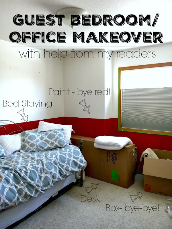 The Guest Bedroom/Office Project
