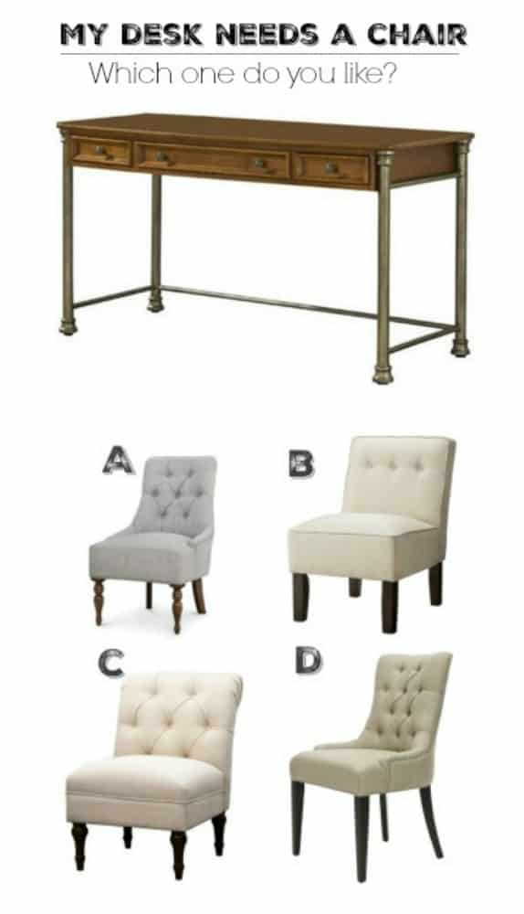 My desk needs a new office chair, which one should I choose?