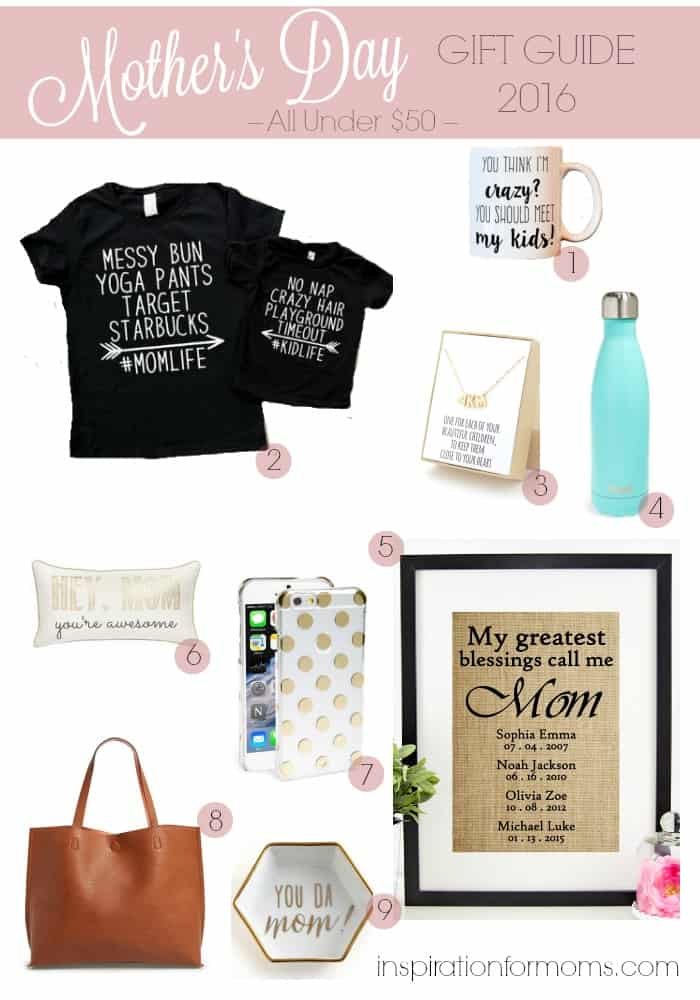 Mother's Day Ideas – All Under $50