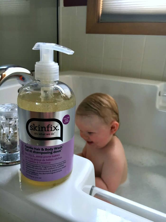 Bath time and baby eczema don't mix. These five tips will help treat and prevent baby eczema and bring the giggles back to your babies bath.