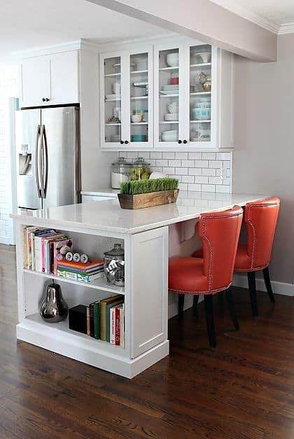 kitchen bookcase idea