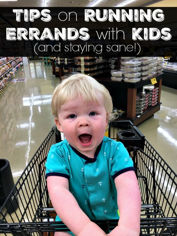 Tips on Running Errands with Kids
