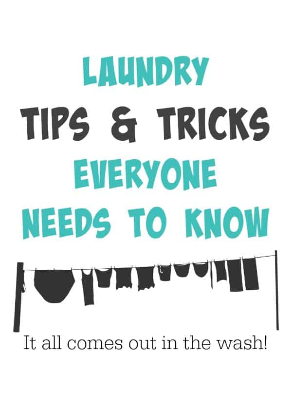 Laundy tips and tricks everyone needs to know!