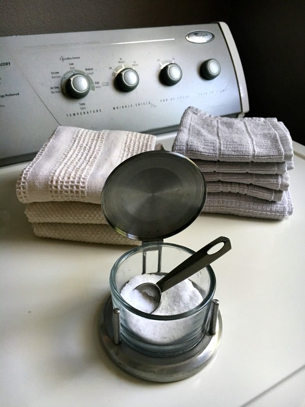 Prevent fading by adding a teaspoon of salt in your wash.
