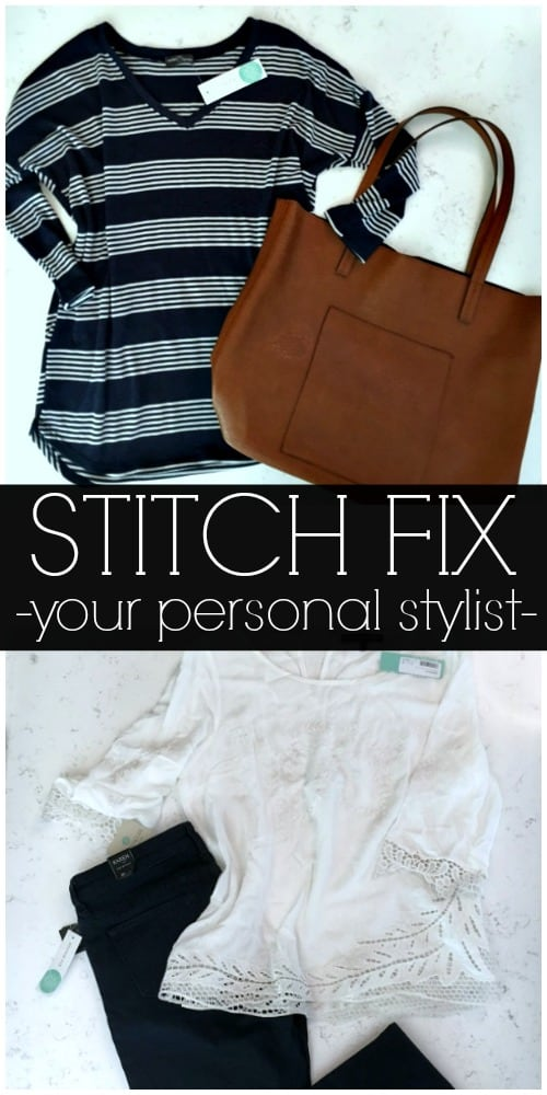 Stitch Fix is your personal stylist delivered to your front door!
