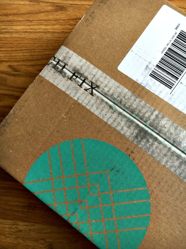 stitch fix arrives in a cute box right to your front door