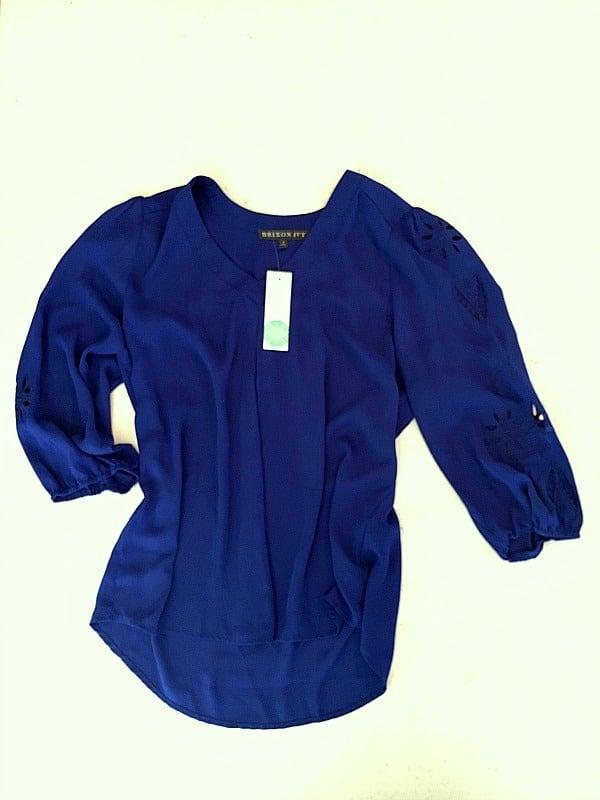 stitch fix purple shirt - sent back