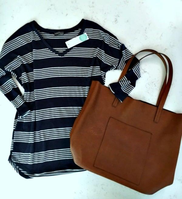 stitch fix striped shirt - kept