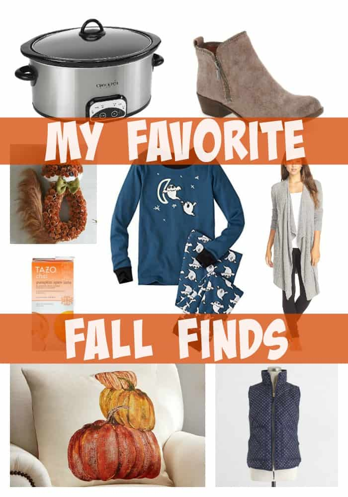 My Favorite Fall Finds -- If Fall is your season, check out my finds!