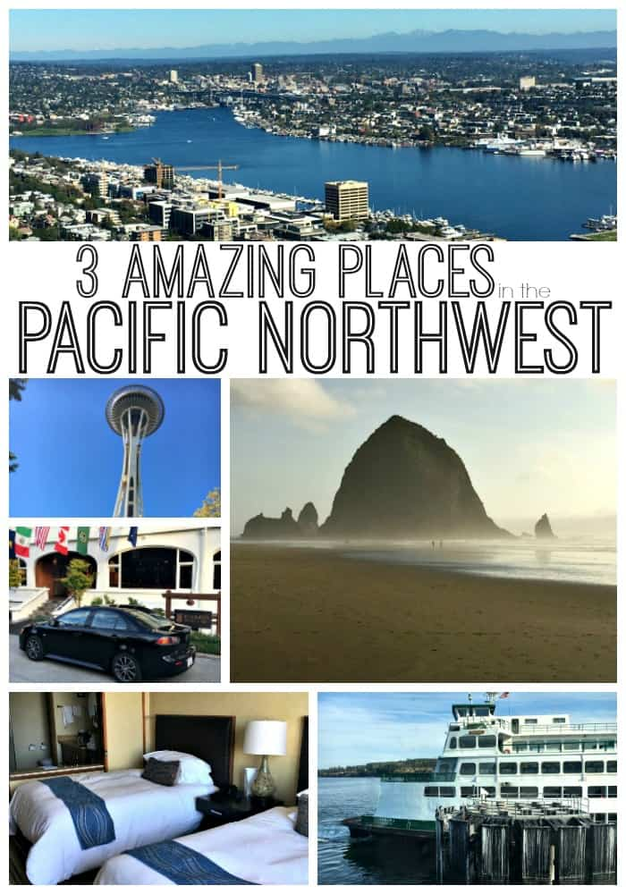 Three Amazing Places in the Pacific Northwest