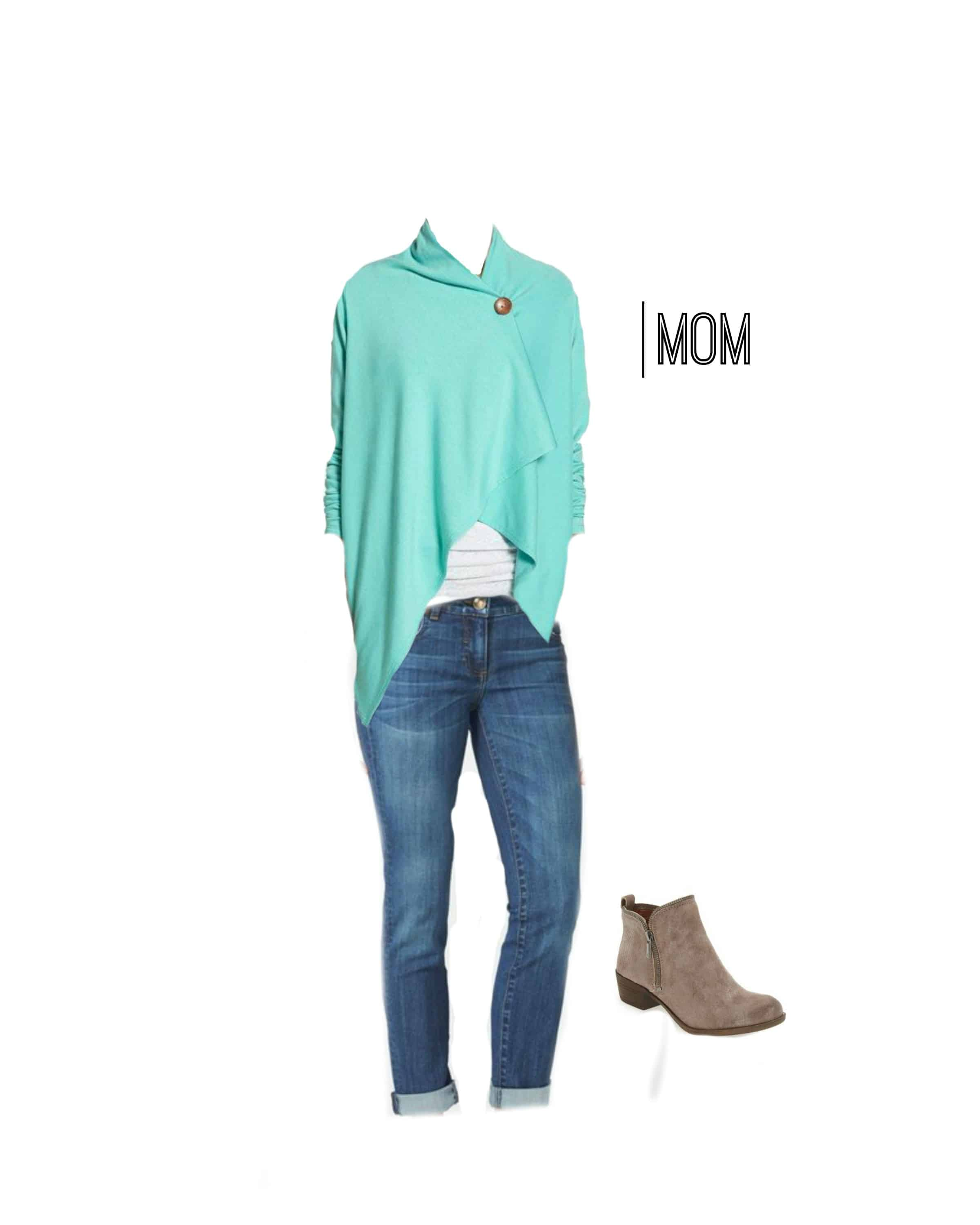 A fantastic outfit for Mom to wear for Fall family photos!
