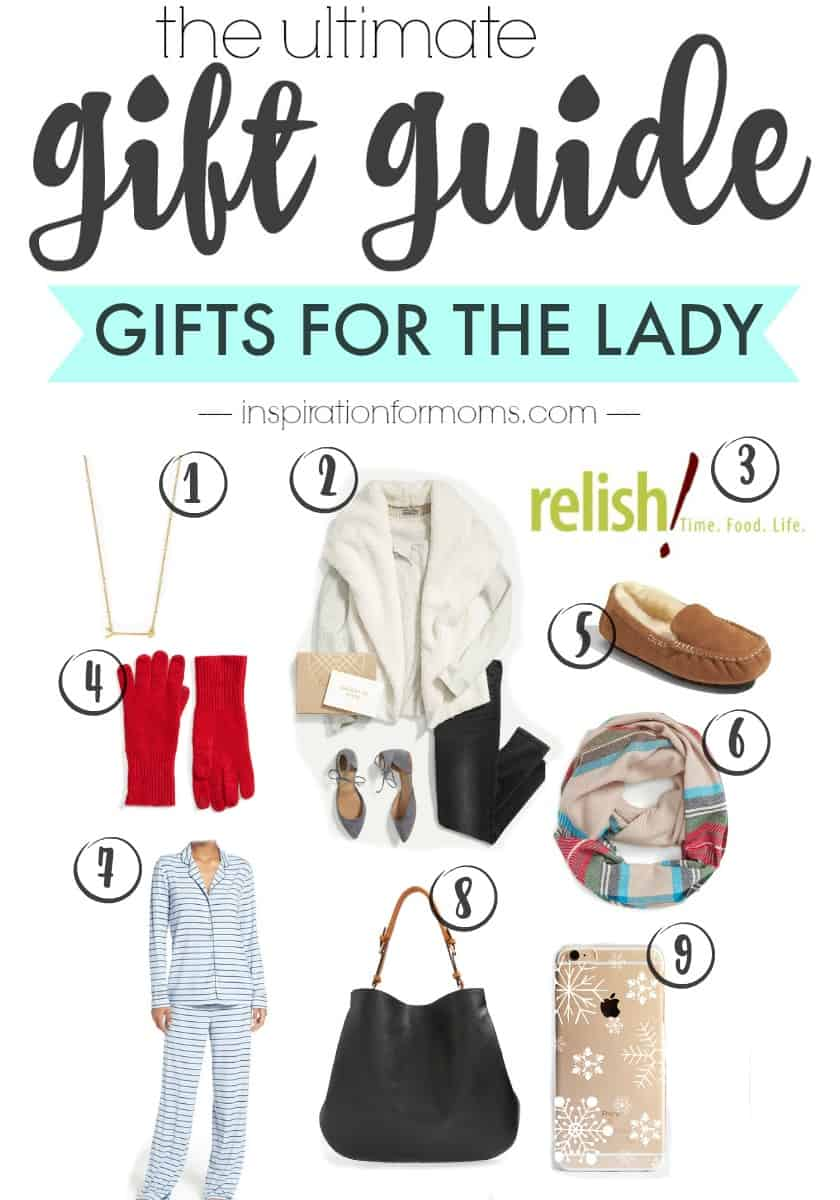 This ultimate gift guide for the lady has a great collection of gifts for any lady in your life!