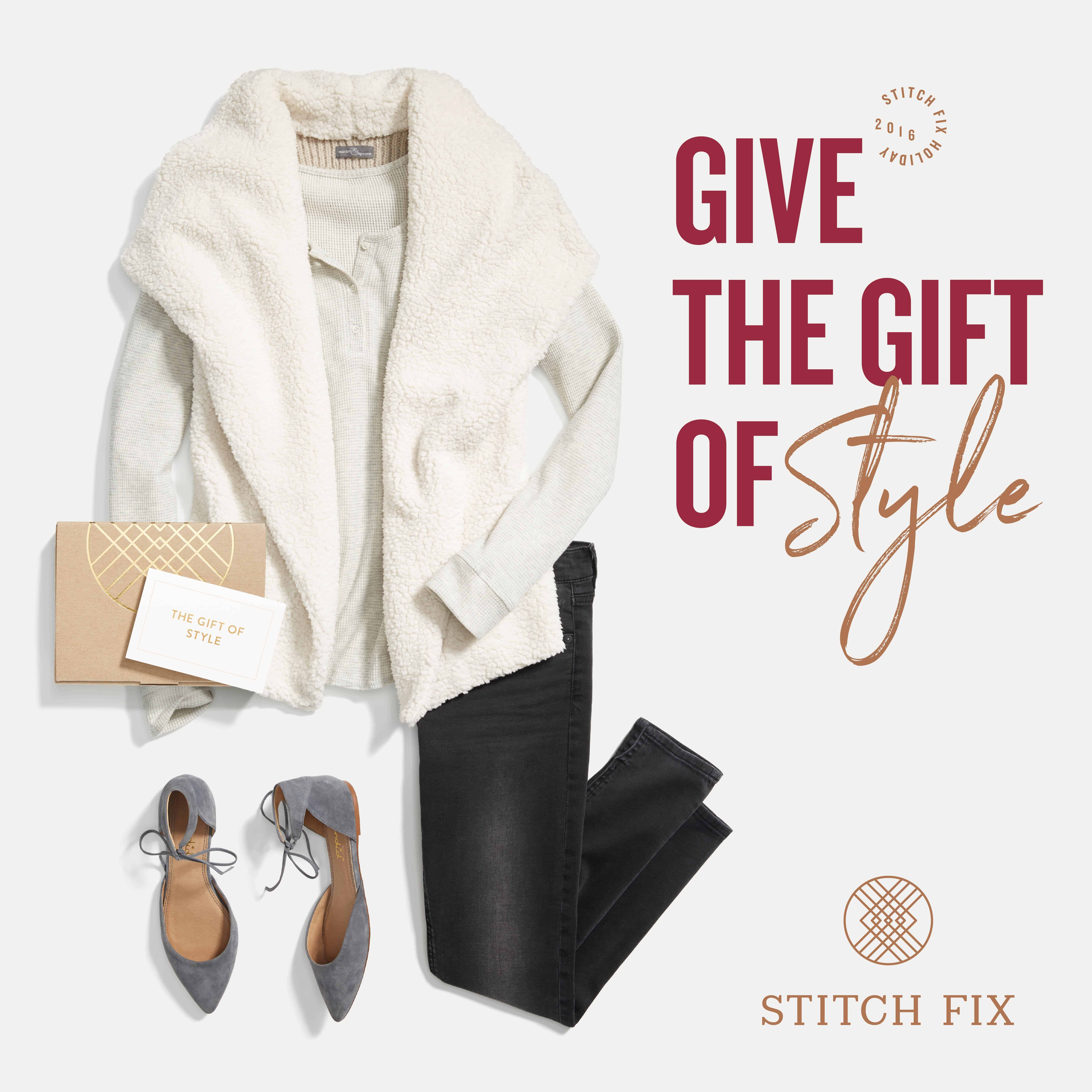 This ultimate gift guide for the lady has a great collection of gifts for any lady in your life, like a personal shopper from Stitch Fix!