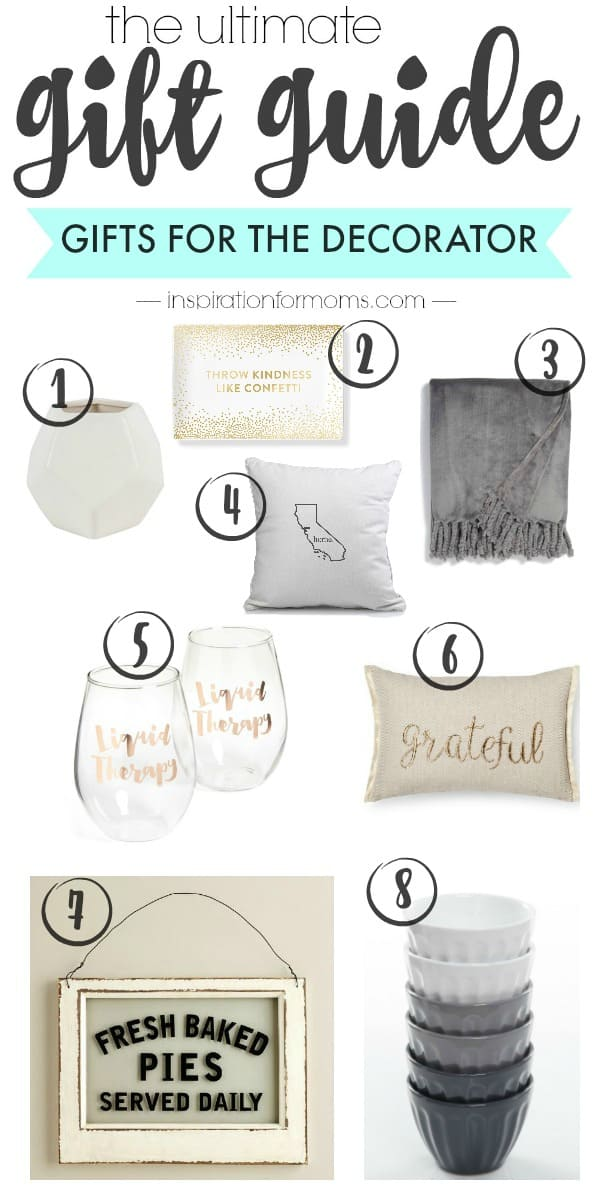 The Ultimate Gift Guide for the Decorator