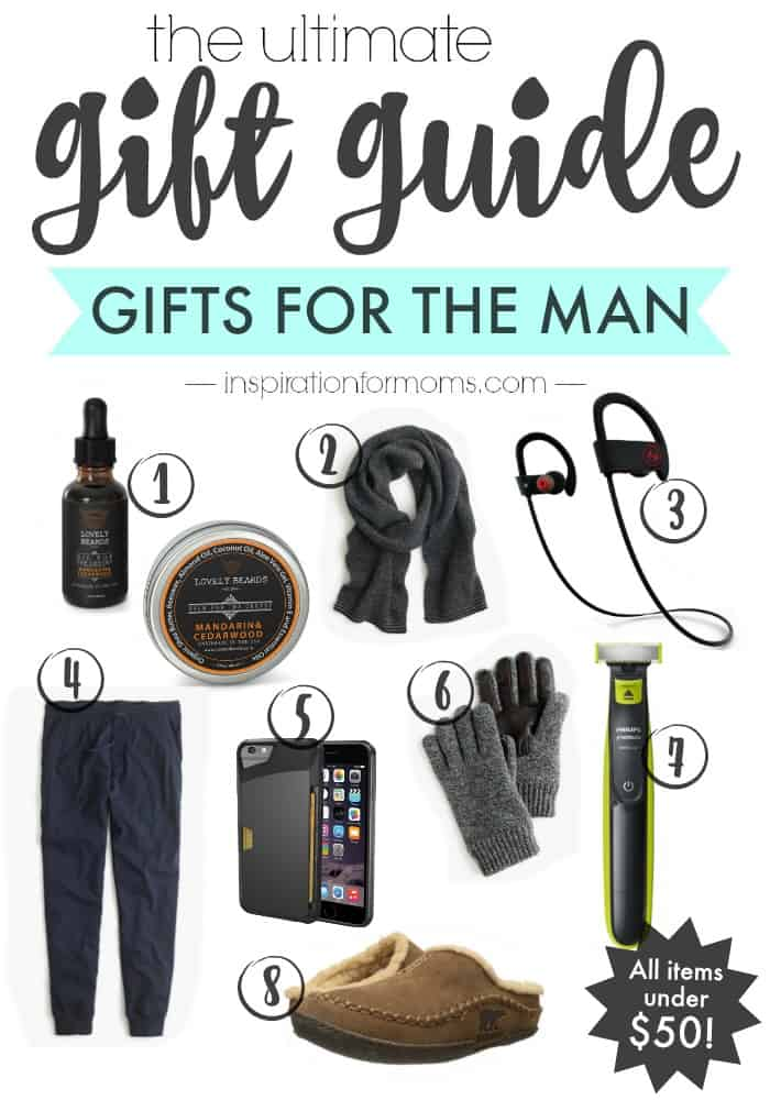 The Ultimate Gift Guide for the Man