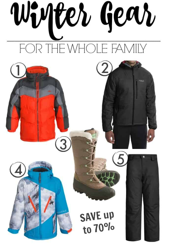 Winter Gear for the Whole Family