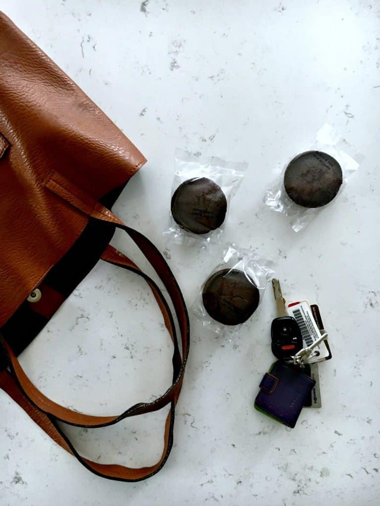 Garden Lites muffins are portable!
