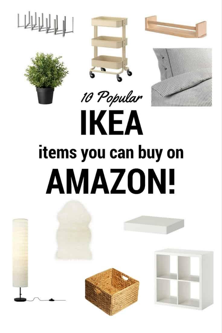 Popular Ikea Products You Can Amazingly Buy on Amazon