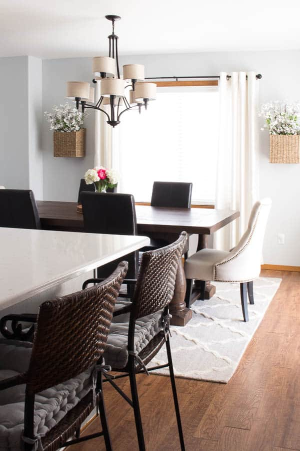 Spring Home Tour - dining room