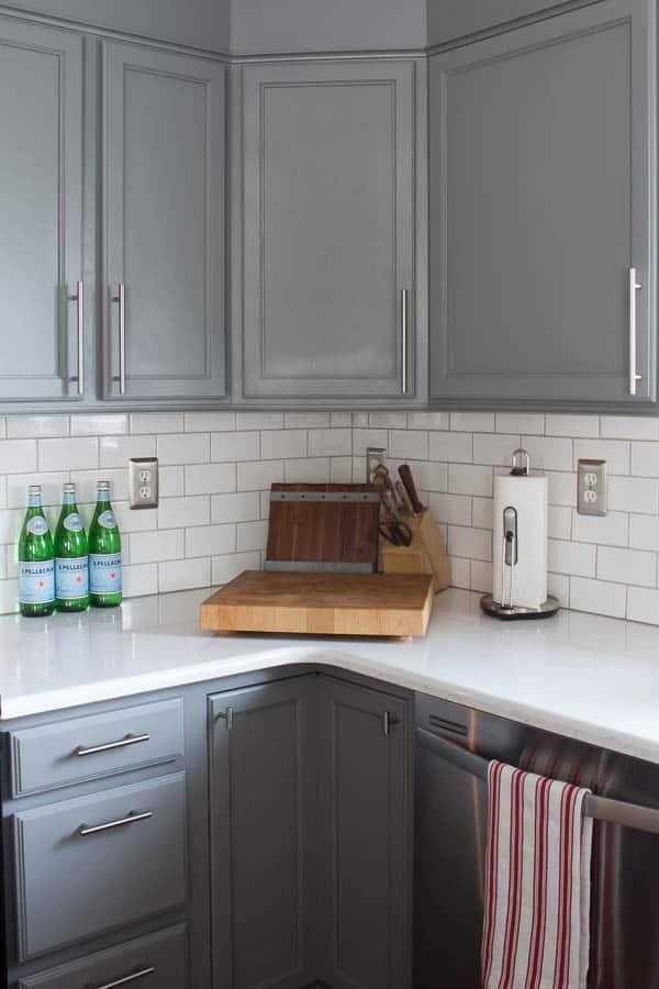 Spring Home Tour - kitchen subway tile