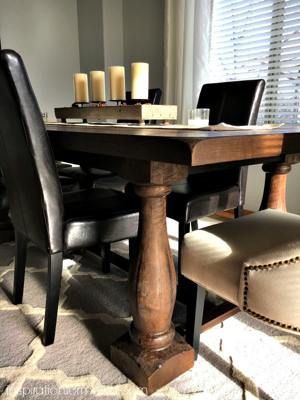 Rustic Java Greyson Table from World Market