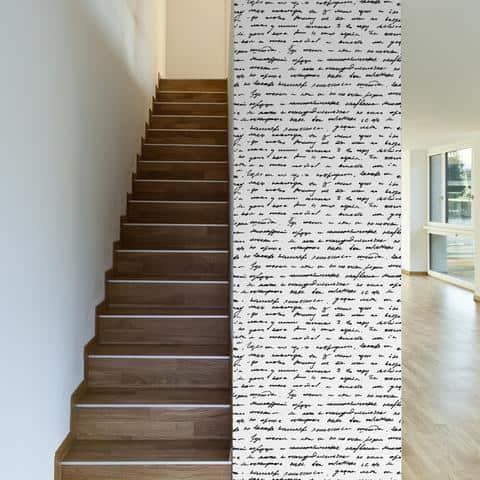 handwritten wall paper
