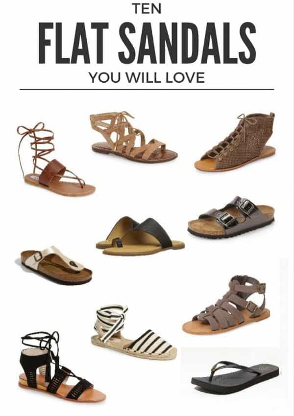 Affordable Flat Sandals