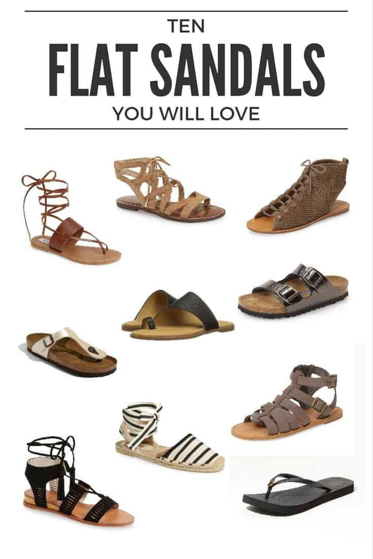 Affordable Flat Sandals You Will Love for Summer