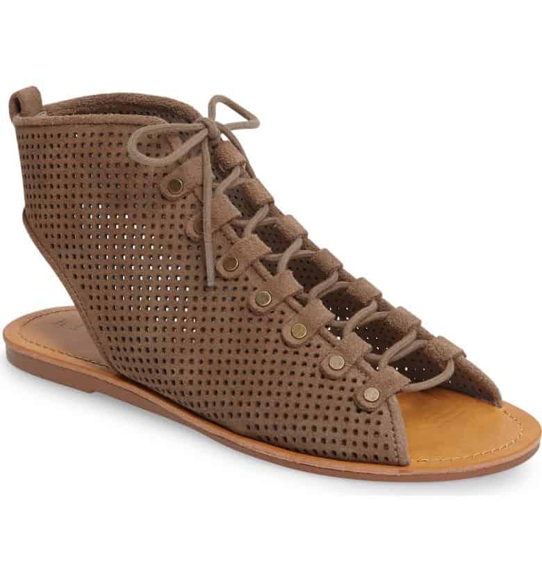Reid Lace-Up Sandal