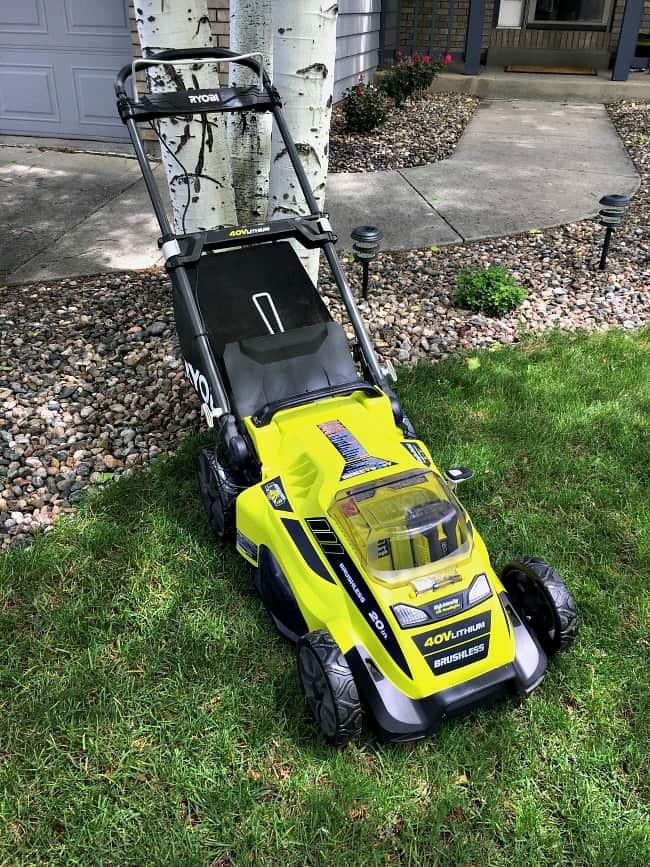 My Ryobi Lawn Mower — Gas-Like Power But Cordless!