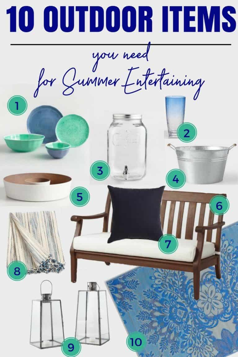 10 Fabulous Summer Outdoor Entertaining Items You Need To Get