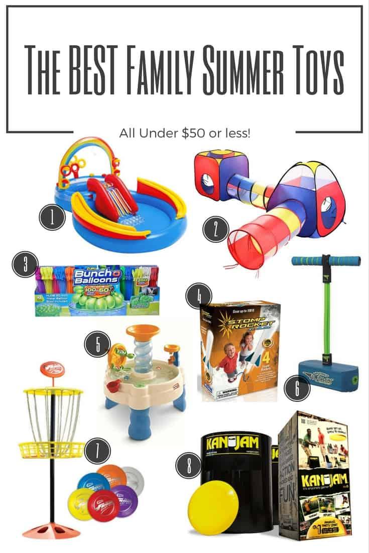 The Best Family Summer Backyard Toys – All Under $50 Bucks!