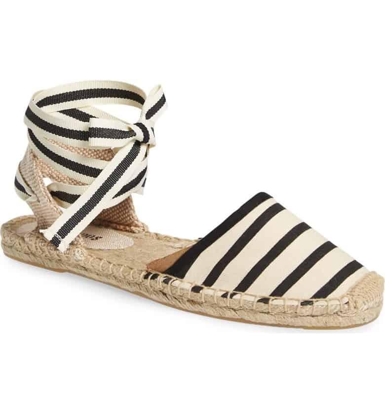 Lace-Up Espadrille Sandal