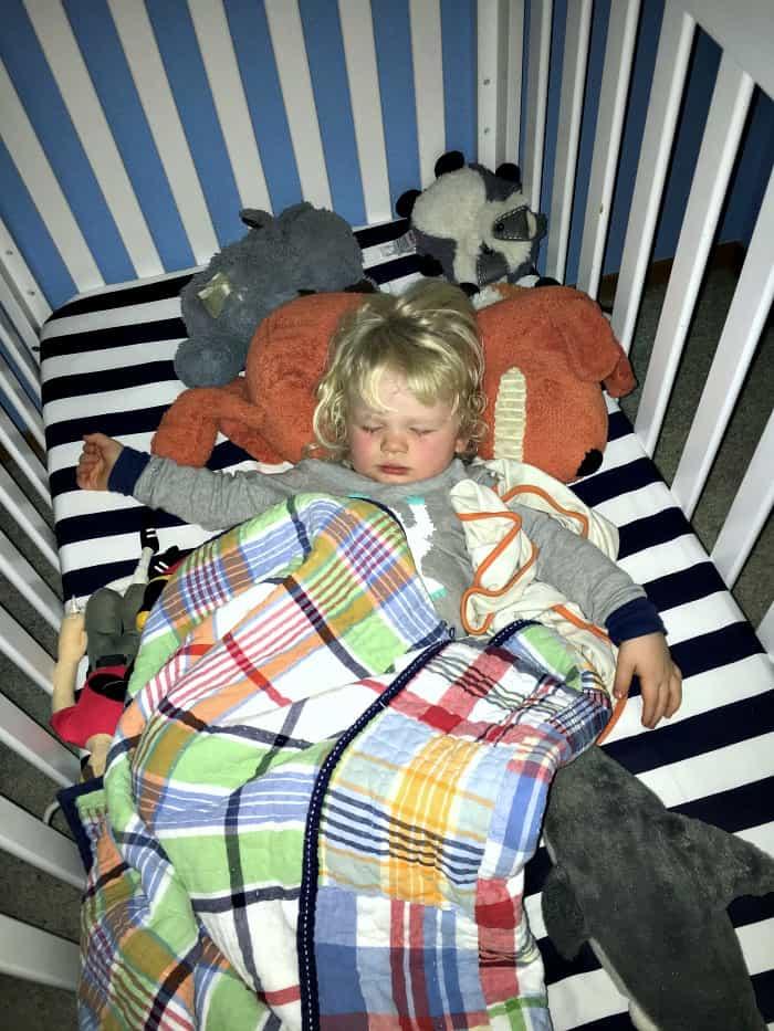 Britton sleeping