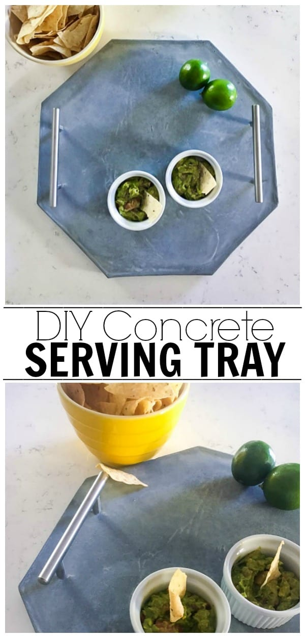 Create a super trendy concrete serving tray in just a few simple steps! Learn all the products you will need and where to register!