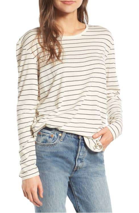 Side Slit Tee - great for this Fall!