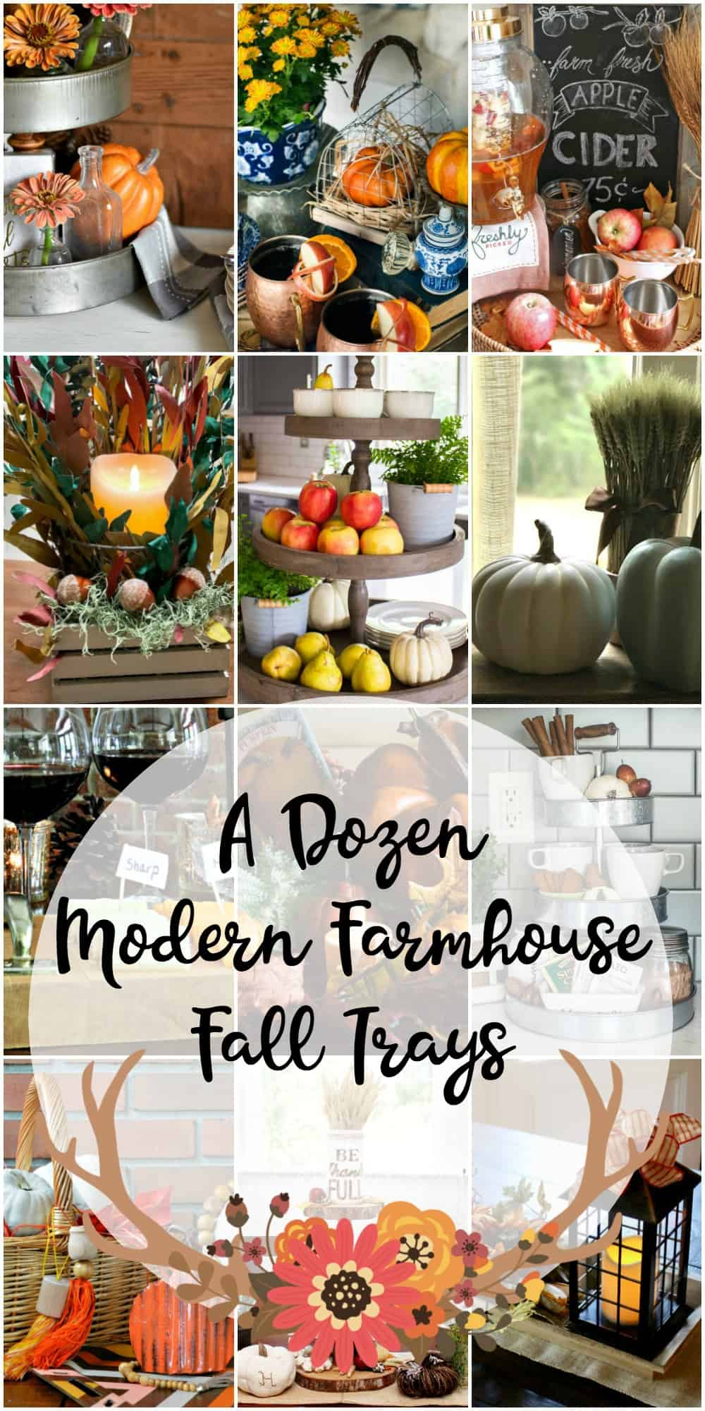 A Dozen Modern Farmhouse Trays