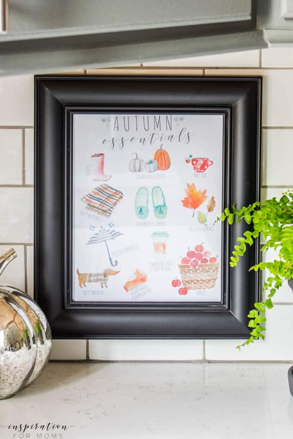 Celebrate Fall with an Autumn Essentials Printable