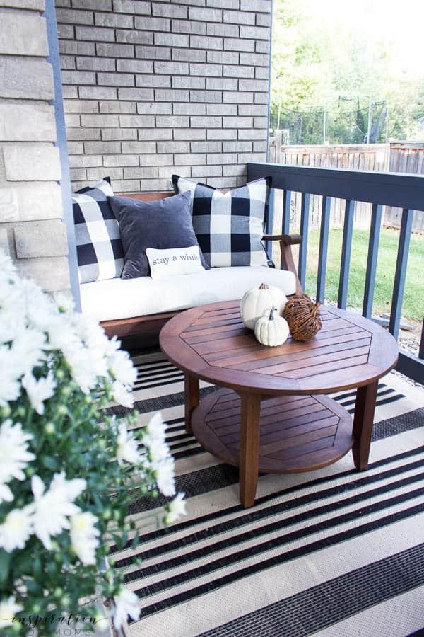 Fall Home Tour Fall Porch