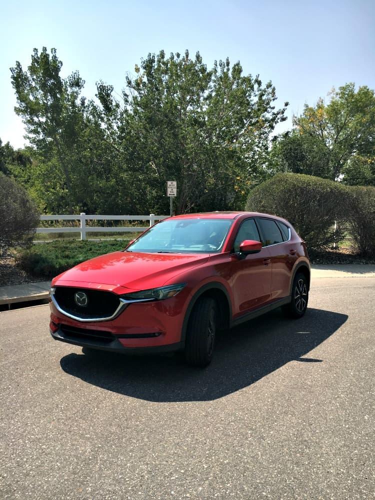 2017 Mazda CX5 red