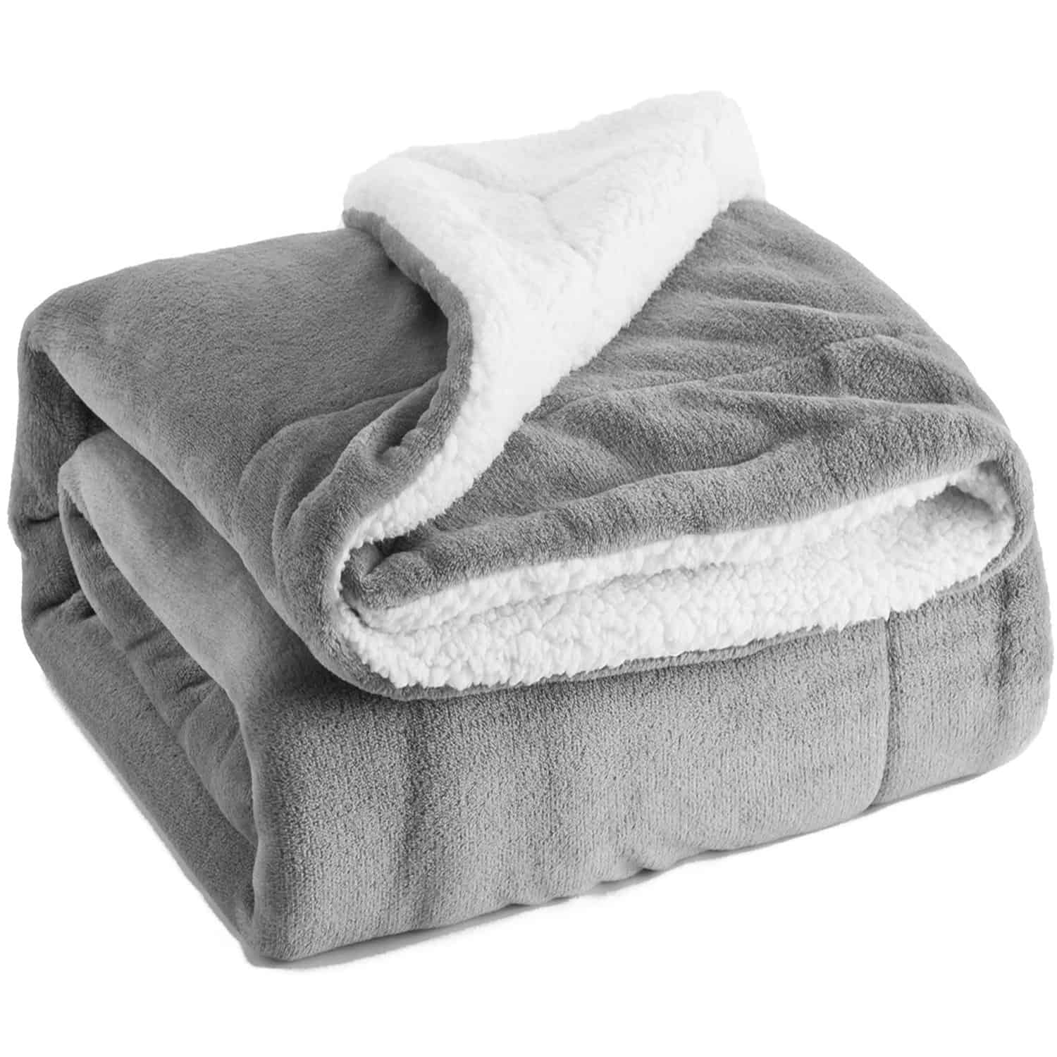 Cozy Sherpa throw is perfect for Fall snuggles on the couch.