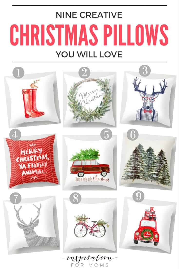 Festive Christmas Pillows for Your Home
