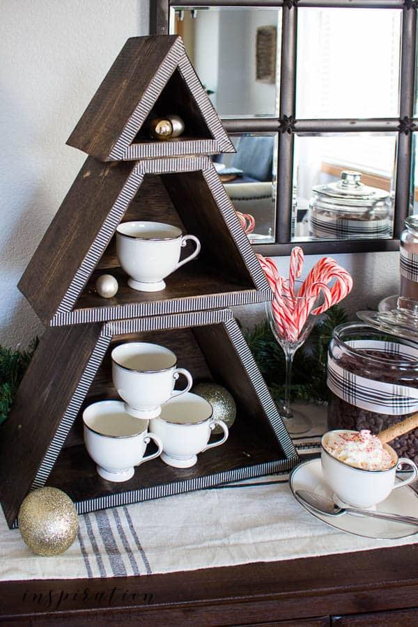 Stackable Christmas Tree Shelf