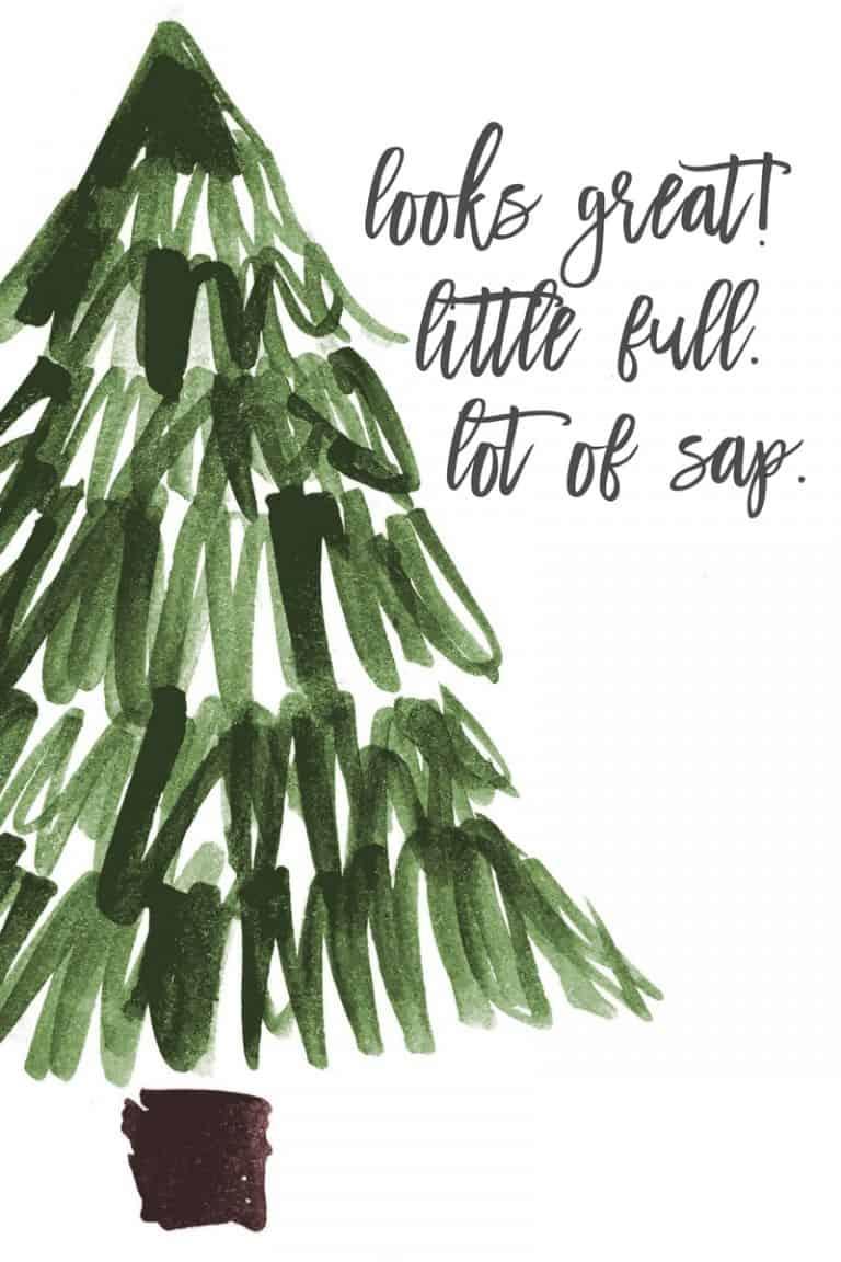 Christmas Vacation Printables – Set of Four
