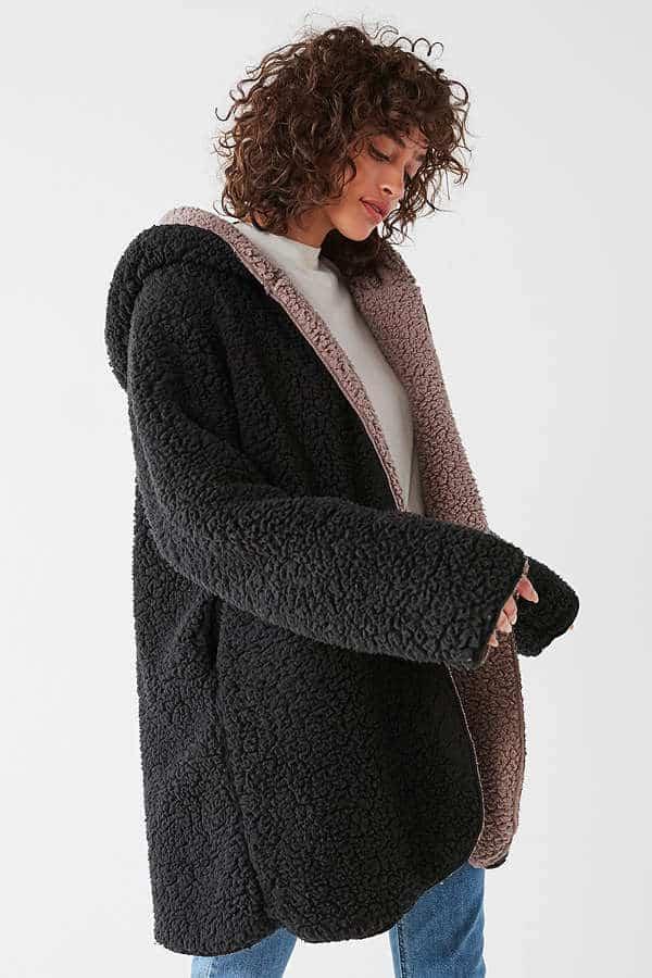 This Magnolia Cozy Reversible coat looks so cozy!