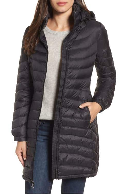 This Michael Kors hooded coat is on a great sale price!