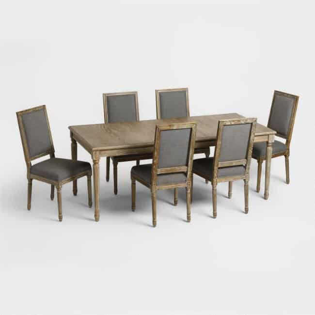 This Wood Paige Dining Collection would be great for holiday meals!