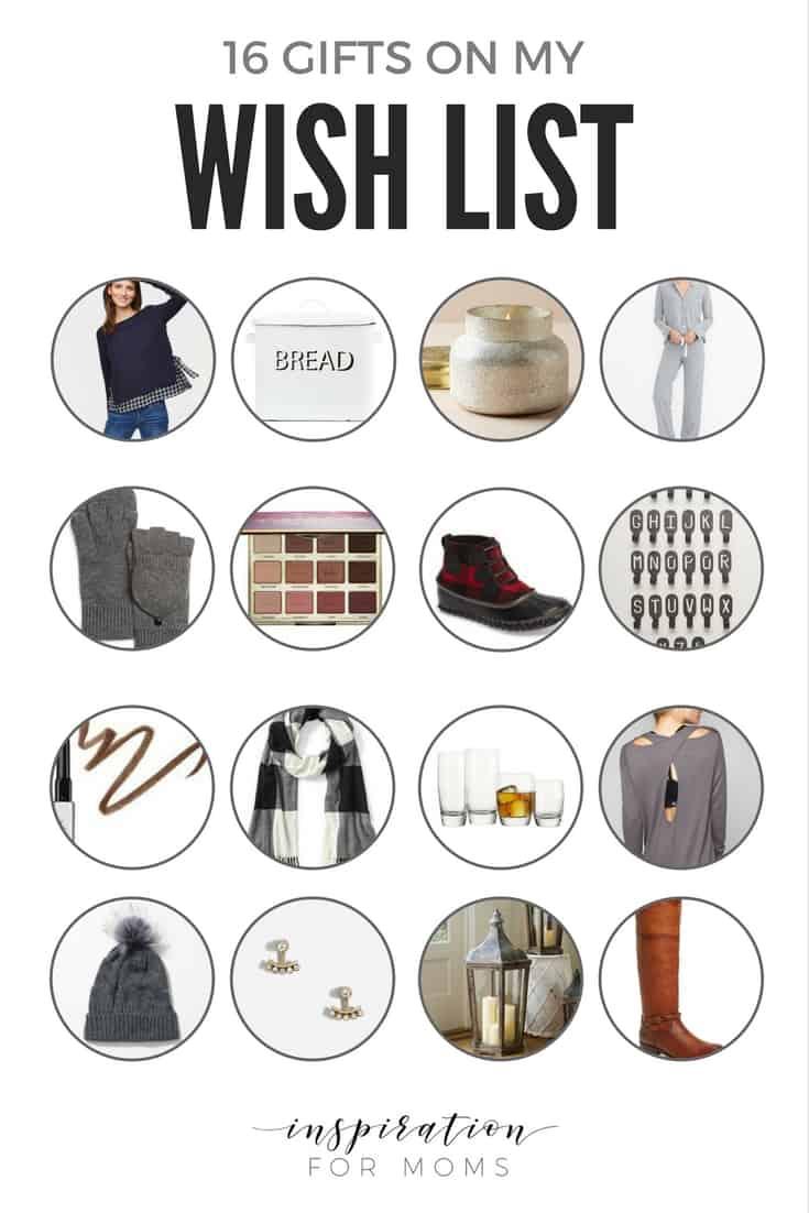 16 Gifts On My Christmas Wish List