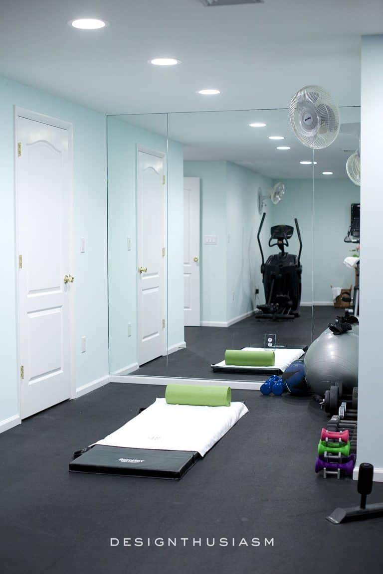 Great tips on setting up your own home gym!