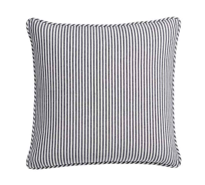Great sale price on this striped pillow cover!